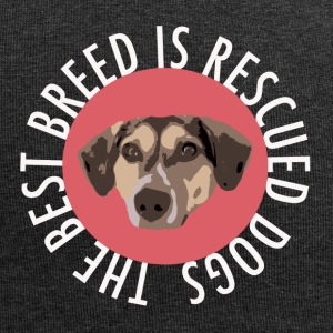 TS_Rescued is the best white - Jersey-Beanie