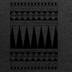 Tattoo maori tribe line - Beanie in jersey
