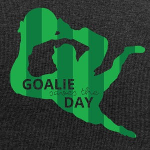 Football: Goalie saves the day - Jersey Beanie