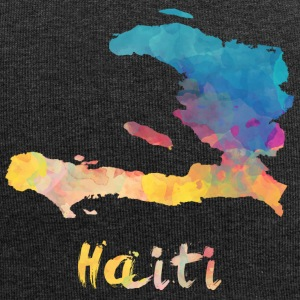 Haitian Watercolor Country - Jersey Beanie