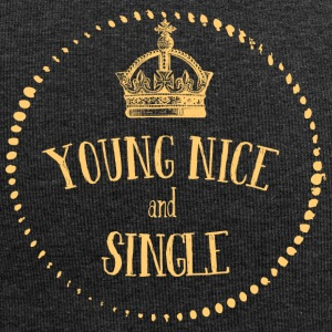 Young Nice and SINGLE - Jersey Beanie