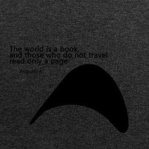 Travel_Quote_copy - Beanie in jersey