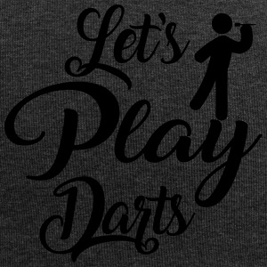 Let's Play Darts - Jersey Beanie