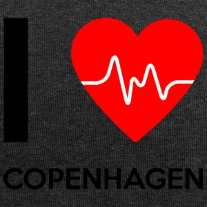 J'aime Copenhague - I love Copenhague - Bonnet en jersey