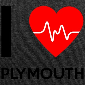 J'aime Plymouth - Plymouth I love - Bonnet en jersey