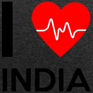 J'aime l'Inde - I Love India - Bonnet en jersey