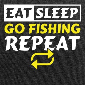 Eat Sleep go Fishing Repeat - Jersey-Beanie