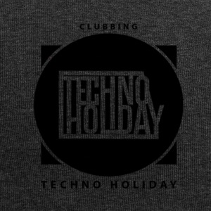 logo_techno_holiday_2017_negro1 - Bonnet en jersey