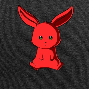 Red bunny - Jersey Beanie