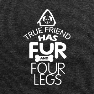A true friend has fur and four legs - Jersey Beanie