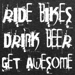 Ride Bikes - Drink Beer - Get Awesome - Jersey-Beanie