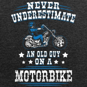 Never underestimate an old guy on a Motorbike - Jersey-Beanie