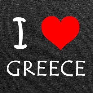 I Love Greece - Jersey-Beanie