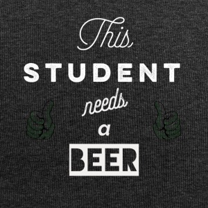 This_student_needs_a_beer_T-Shirt & Hoody - Czapka krasnal z dżerseju