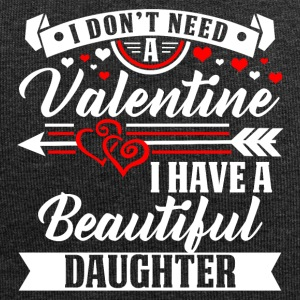 Daughter - Valentine's Day T-shirt and hoodie - Jersey Beanie