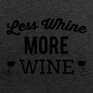Less crying - more wine - Jersey Beanie