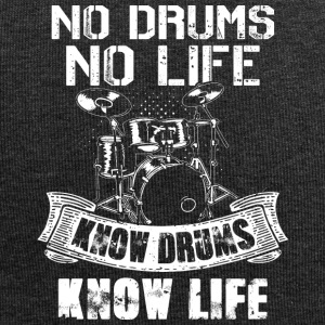 No Drums No Life Know Drums Know Life - Jersey Beanie