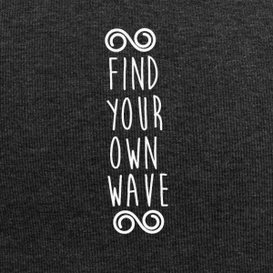 FIND YOUR OWN WAVE - Jersey Beanie