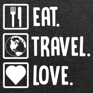 ++Eat, Travel, Love++ - Jersey-Beanie