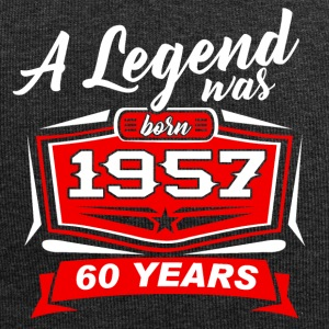 Legends sont nés en T-shirt 1957. - Bonnet en jersey
