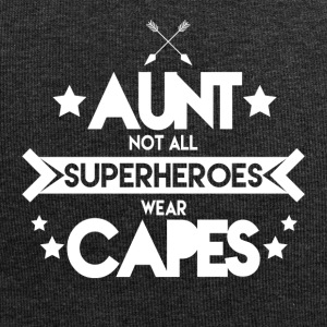 Aunt - Not all superheroes wear capes - Jersey Beanie