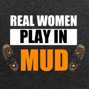 Real women play in mud - Jersey Beanie