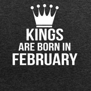 kings are born in february - Jersey Beanie