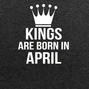 kings are born in april - Jersey Beanie