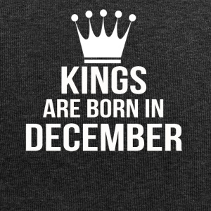kings are born in december - Jersey-Beanie