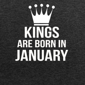 kings are born in january - Jersey Beanie