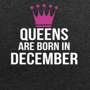 queens are born in december pink - Jersey-Beanie