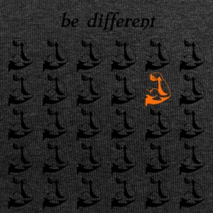 Fitnessshirt Fitnessaccessories be different - Jersey-Beanie
