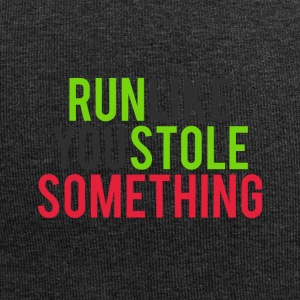 Run like you stole something - Jersey Beanie