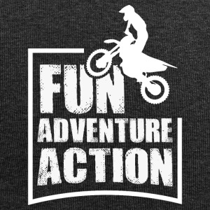 Enduro FUN ADVENTURE ACTION - Bonnet en jersey