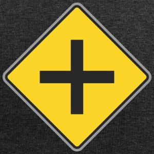 Road Sign 4 ways yellow - Jersey Beanie