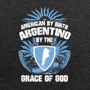 I was born are in Argentina grace of God - Jersey Beanie