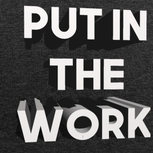 put in the work - Jersey-Beanie