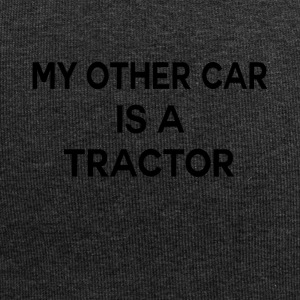 Second car tractor funny sayings - Jersey Beanie