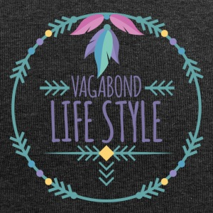 Hippie / Hippies: Vagabond Stili di vita - Beanie in jersey