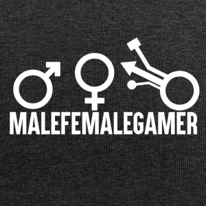 Gamer - Male Female Gamer - Jersey Beanie