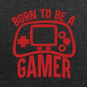 Gamer - Born to be a gamer - Jersey Beanie