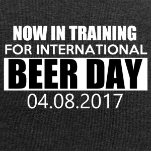 Training for international BEER DAY - Jersey Beanie