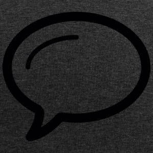 Linecons speech bubble - Jersey Beanie