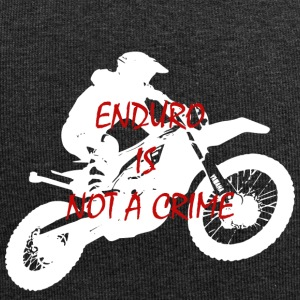 enduro is not a crime 2 - Jersey Beanie