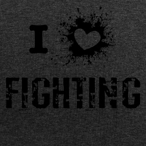 iLove Fighting - Beanie in jersey