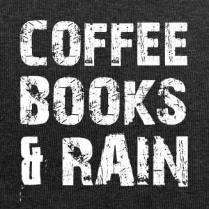 Coffee, books and rainy weather - Jersey Beanie