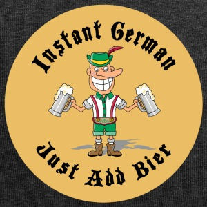 Instant German Just Add Bier Beer - Jersey Beanie