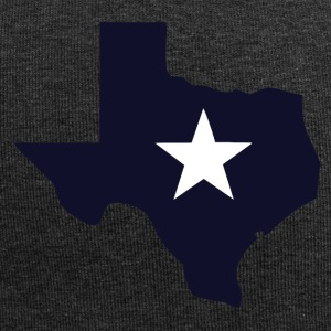 TEXAS State Outline Star - Bonnet en jersey