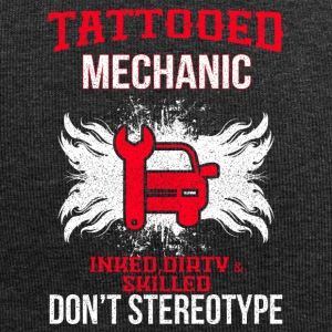 TATTOOED MECHANIC - Jersey-beanie