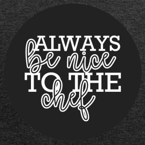 Koch / Chefkoch: Always Be Nice To The Chef - Jersey-Beanie